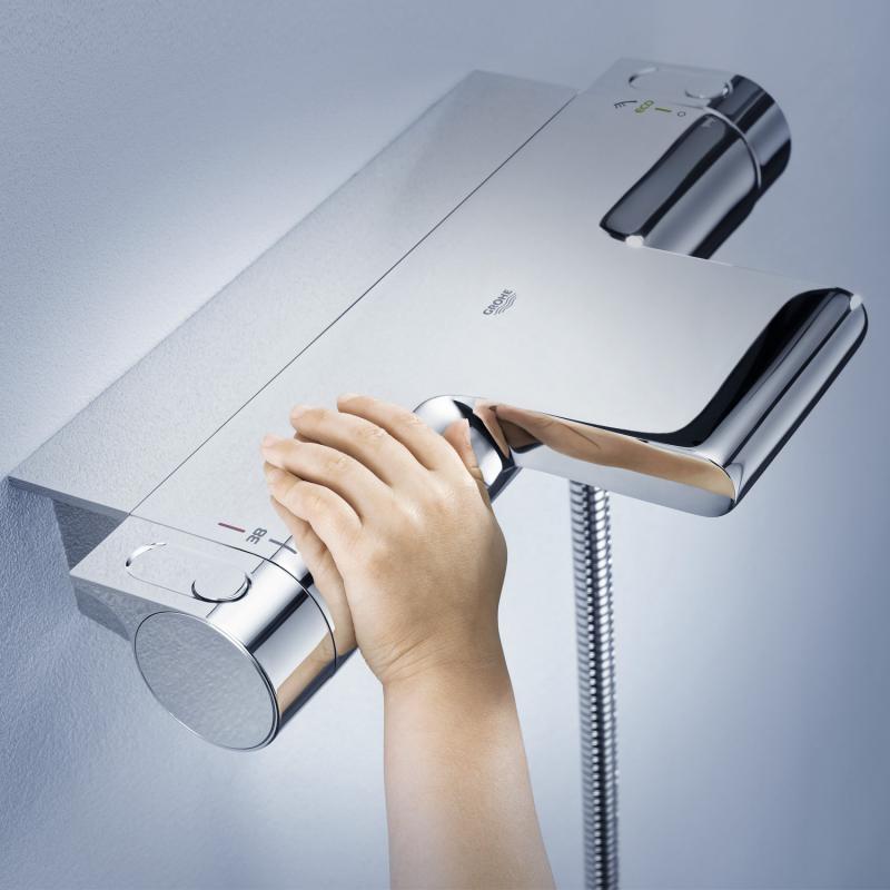 Beliebt Grohe Grohtherm 2000 Thermostat-Wannenbatterie, DN15 für LZ05