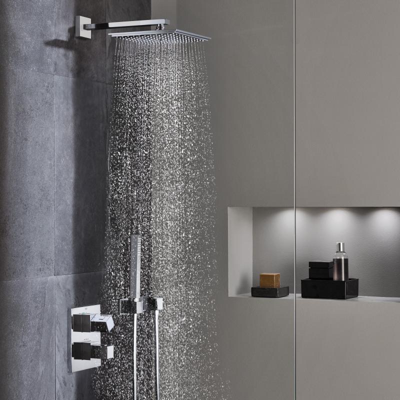 Grohe armaturen dusche  Grohe Grohtherm Cube Duschsystem Unterputz mit Rainshower Allure ...