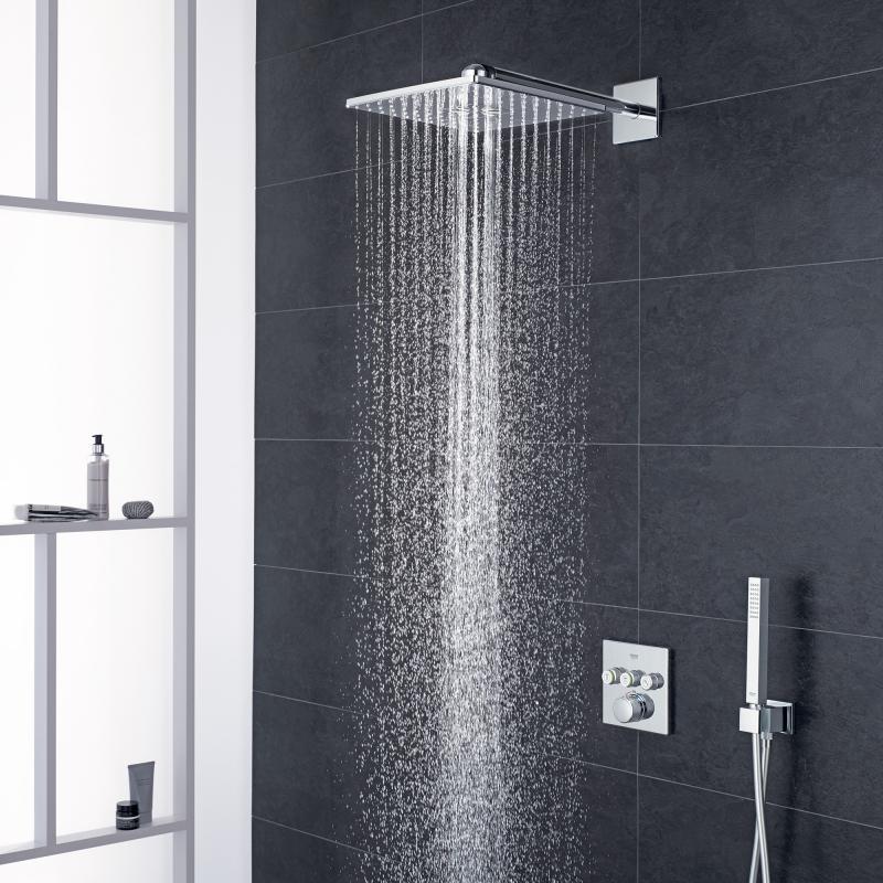 grohe grohtherm smartcontrol duschsystem unterputz mit rainshower 310 smartactive cube. Black Bedroom Furniture Sets. Home Design Ideas