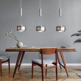 FISCHER & HONSEL Colette LED Pendelleuchte mit Dimmer, 3-flammig