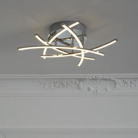 Fischer & Honsel Cross TW LED Deckenleuchte mit CCT und Dimmer