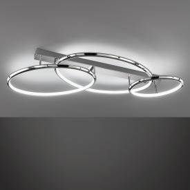 Fischer & Honsel Dion LED Deckenleuchte mit Dimmer und CCT