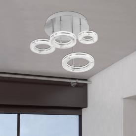 Fischer & Honsel Kreis LED Deckenleuchte mit CCT und Dimmer, rund