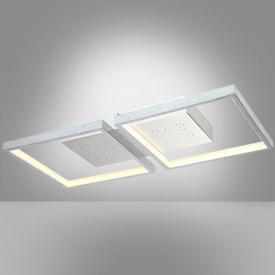 Fischer & Honsel Pix LED Deckenleuchte mit Dimmer, 2-flammig