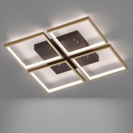 Fischer & Honsel Pix LED Deckenleuchte mit Dimmer, 4-flammig