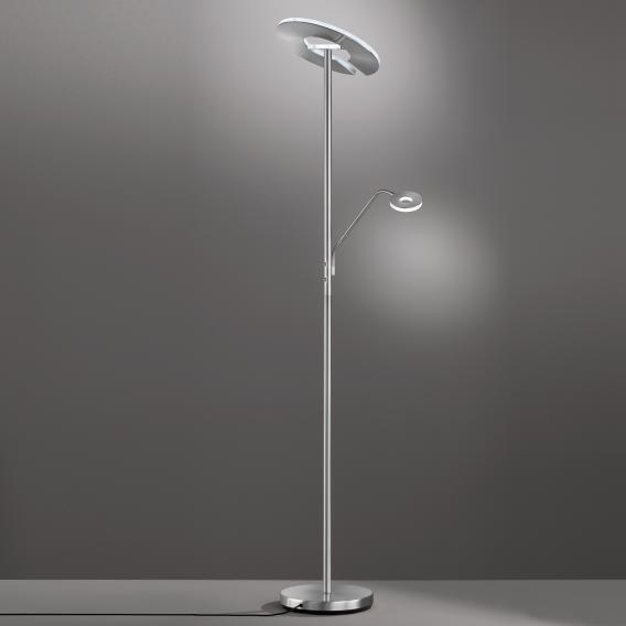 Fischer & Honsel Dent LED Stehleuchte mit Dimmer und CCT