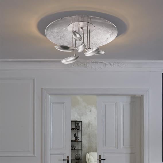 FISCHER & HONSEL Pau LED Deckenleuchte mit CCT und Dimmer, rund
