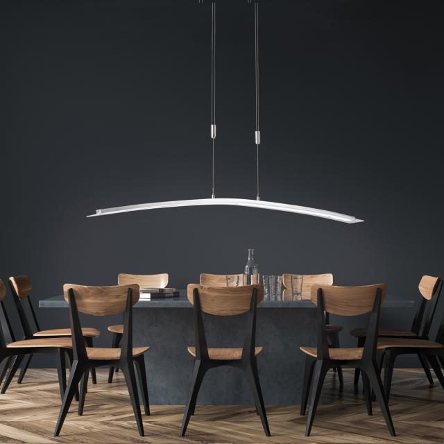 FISCHER & HONSEL Metis LED Pendelleuchte mit CCT und Dimmer