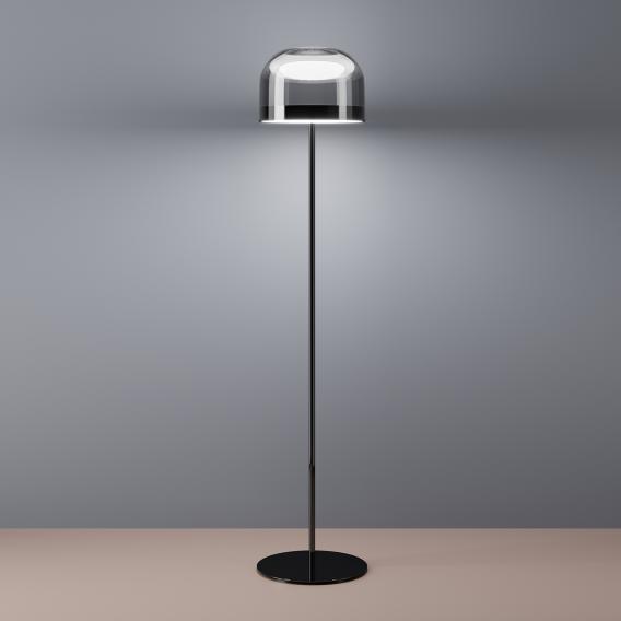 FontanaArte Equatore LED Stehleuchte mit Dimmer, groß