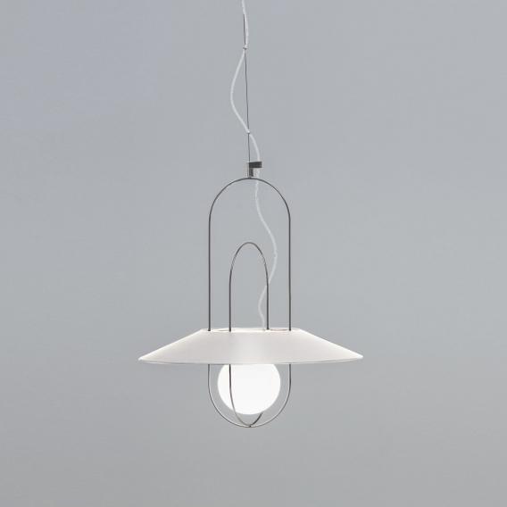 FontanaArte Setareh LED Pendelleuchte mit Glasdiffusor, klein
