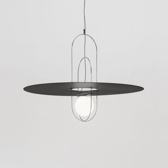 FontanaArte Setareh LED Pendelleuchte mit Metalldiffusor, klein