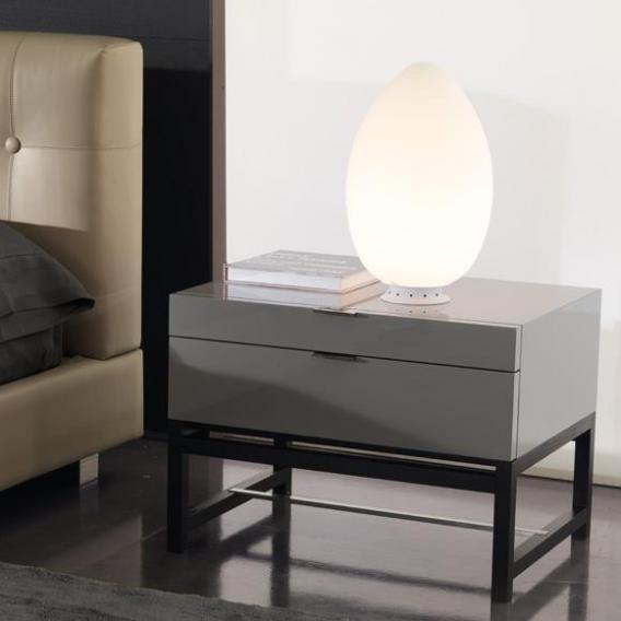 FontanaArte Uovo LED Tischleuchte mit Dimmer