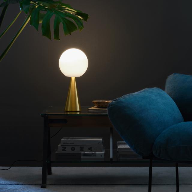 FontanaArte Bilia LED Tischleuchte mit Dimmer