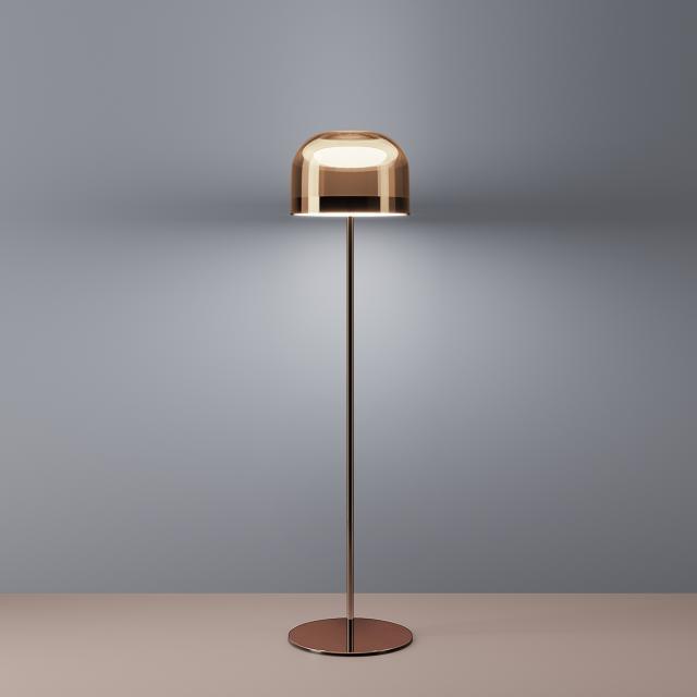 FontanaArte Equatore LED Stehleuchte mit Dimmer, klein