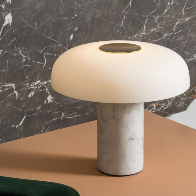 FontanaArte Tropico LED Tischleuchte mit Dimmer