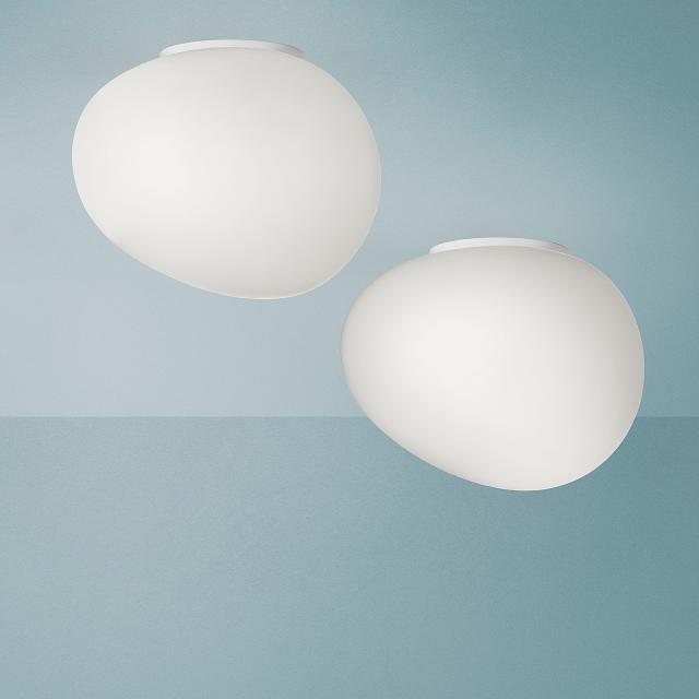 FOSCARINI  Gregg Midi LED Deckenleuchte/Wandleuchte