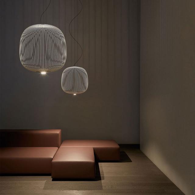 FOSCARINI Spokes 2 Large MyLight LED Pendelleuchte mit Dimmer