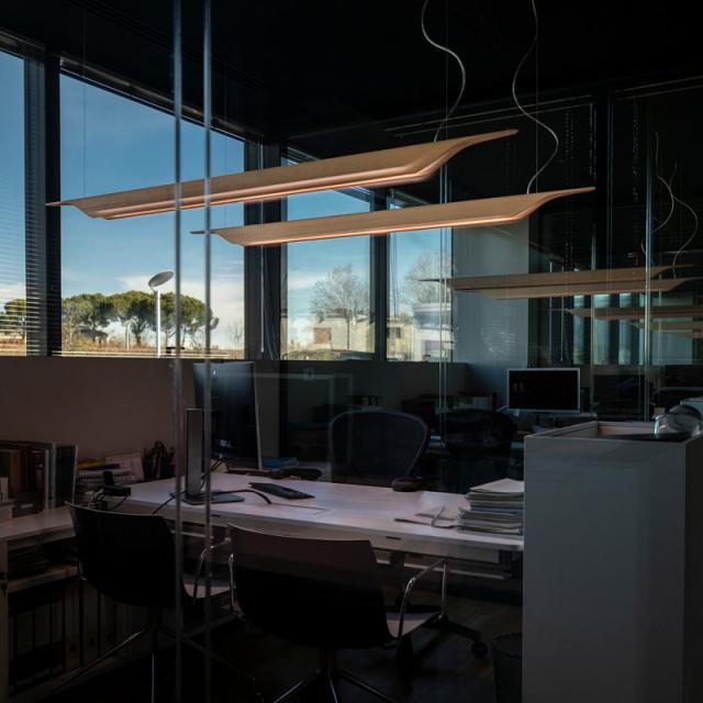 FOSCARINI Troag MyLight LED Pendelleuchte mit Dimmer