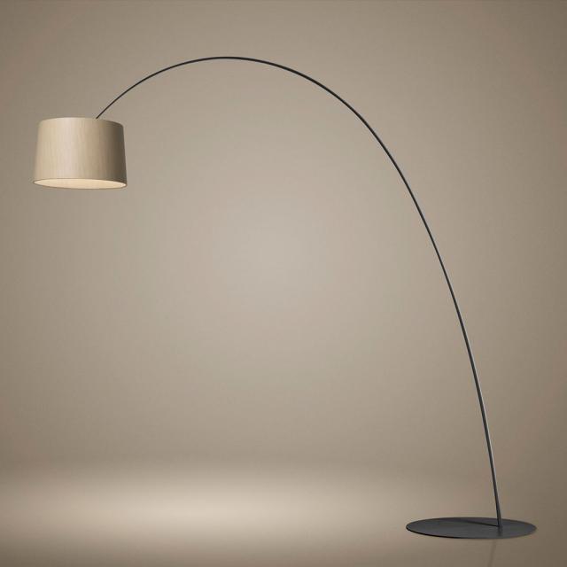 FOSCARINI Twiggy Elle Wood MyLight Tunable White LED Stehleuchte mit Dimmer