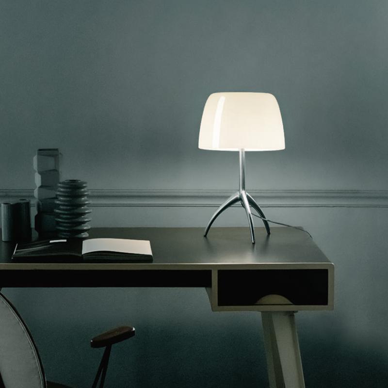 foscarini lumiere 05 piccola tischleuchte mit dimmer 0260012r212d reuter. Black Bedroom Furniture Sets. Home Design Ideas