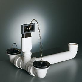Franke Ablaufgarnitur für Auflagespüle mit 2 Becken