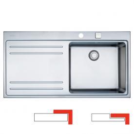 Franke Mythos MTX 211 Küchenspüle Becken rechts