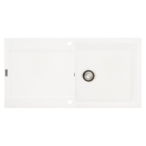 Franke Maris MRG 611-100 drehbare Spüle weiß