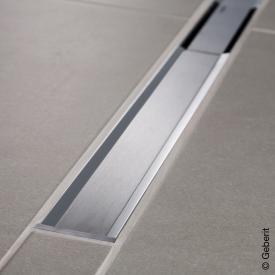 Geberit CleanLine 20 Duschrinne edelstahl poliert / edelstahl gebürstet, für Duschrinne: 30 - 90 cm