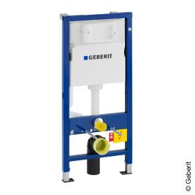 Geberit Duofix Basic Wand-WC Montageelement, 112 cm, mit Delta UP-Spülkasten UP100