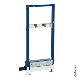 Geberit Duofix Element für Dusche H: 130 cm, mit Wandablauf, Wandarmatur AP, Ø 40 mm