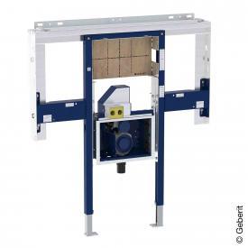 Geberit Duofix Element für ONE Waschtisch und Wandarmatur raumhoch, mit UP-Drehgeruchsverschluss und Clou B: 125 cm
