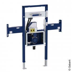 Geberit Duofix Element für ONE Waschtisch und Wandarmatur teilhoch, mit UP-Drehgeruchsverschluss und Clou B: 95 cm