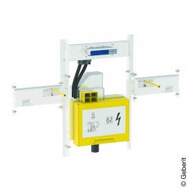 Geberit GIS Set für ONE Waschtisch und Wandarmatur mit UP-Drehgeruchsverschluss, mit UP-Clou B: 91 cm