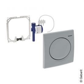 Geberit HyBasic Urinalsteuerung, pneumatisch chrom seidenglanz