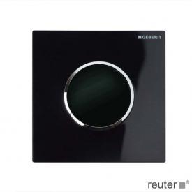 Geberit Urinalsteuerung berührungslos Sigma 10 IR schwarz/chrom