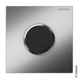 Geberit HyTronic Urinalsteuerung Sigma10, berührungslos, Batteriebetrieb edelstahl gebürstet/edelstahl poliert/edelstahl gebürstet