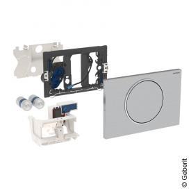 Geberit HyTronic WC-Steuerung Funk Stützklappgriff, Sigma10, berührungsl., Batteriebetrieb