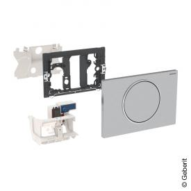 Geberit HyTronic WC-Steuerung Funk Stützklappgriff, Sigma10, berührungslos, Netzbetrieb