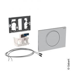 Geberit HyTronic WC-Steuerung Stützklappgriff, Sigma10, mit Taster