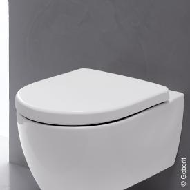 Geberit iCon WC-Sitz mit Deckel ohne Absenkautomatik soft-close