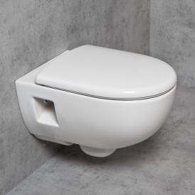 Geberit Renova & Tellkamp Premium 3000 Wand-WC-SET spülrandlos: WC mit KeraTect, WC-Sitz mit Absenkautomatik
