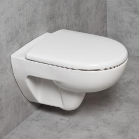 Geberit Renova & Tellkamp Premium 3000 Wand-WC-SET: WC ohne Spülrand, mit KeraTect, WC-Sitz mit Absenkautomatik