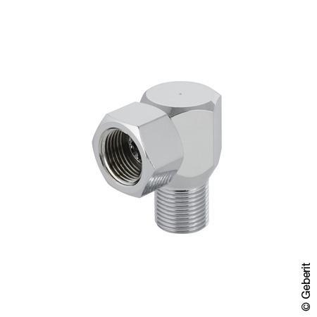 Geberit AquaClean Anschlusswinkel 90° mit Außengewinde und Verschraubung