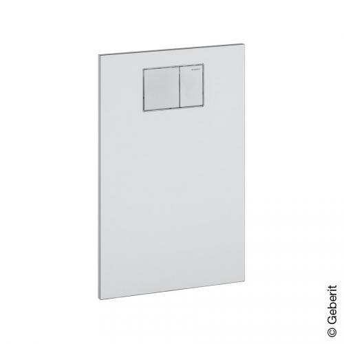geberit aquaclean designplatte f r aufs tze an geberit up sp lkasten wei alpin. Black Bedroom Furniture Sets. Home Design Ideas