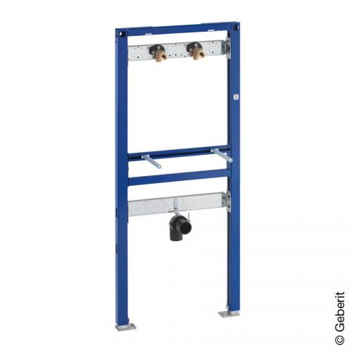 Geberit Duofix Waschtisch-Element, 112-130cm, für AP-Wandarmatur
