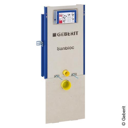 Geberit Sanbloc Wand-WC-Element, 112 cm mit UP-Spk. UP320