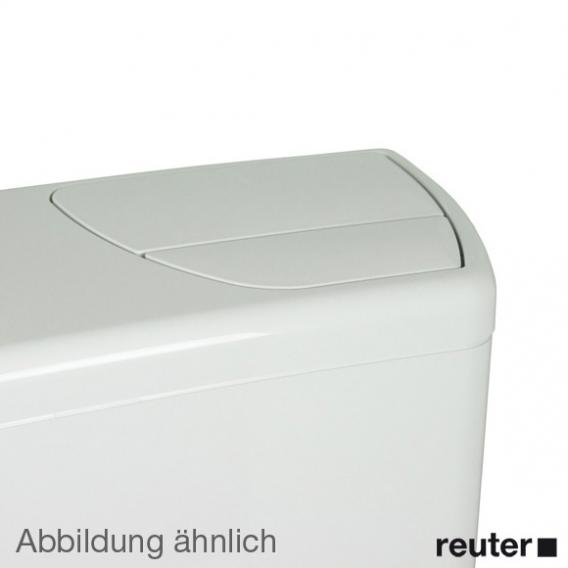 Geberit AP140-Spülkasten, 2 Mengen-Spülung, Wasseranschluss hinten mitte bahamabeige