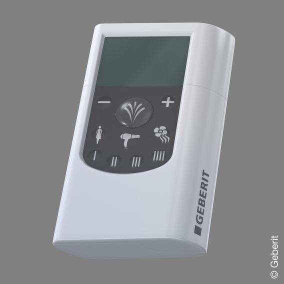 Geberit AquaClean 8000plus Stand-Dusch-WC Komplettanlage mit Anal- und Ladydusche weiß