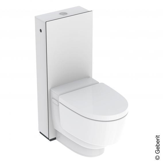 Geberit AquaClean Mera Classic Stand-Dusch-WC Komplettanlage, mit WC-Sitz
