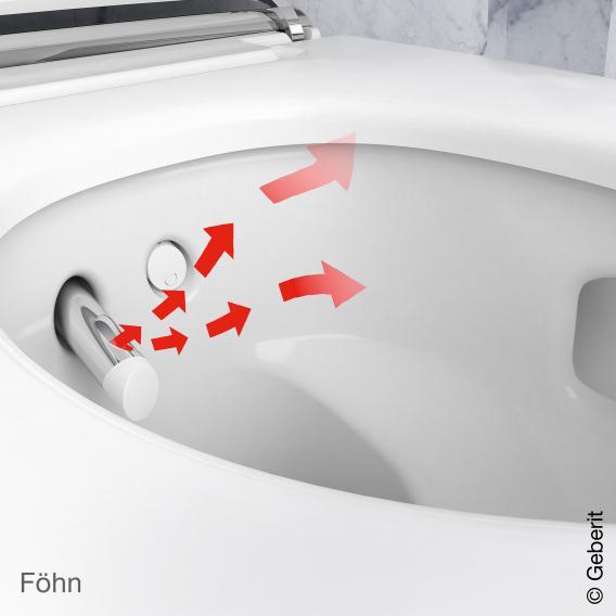 Geberit AquaClean Mera Classic Dusch-WC Komplettanlage weiß